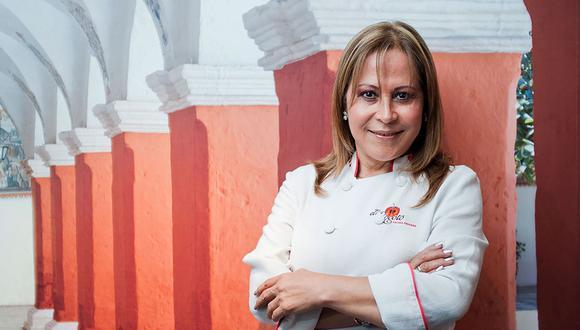 Chef Blanca Chávez.