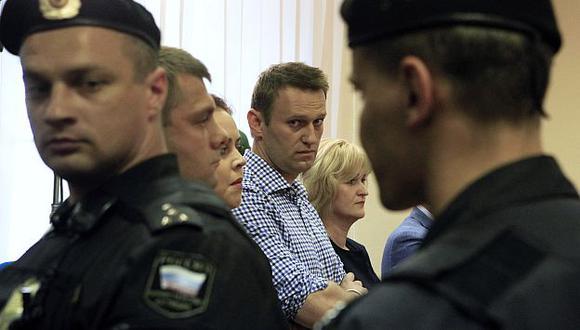 Nalvany, de 37 años, dijo que Putin era un personaje detestable que usaba el dinero del petróleo para perpetuarse en el poder. (Reuters)