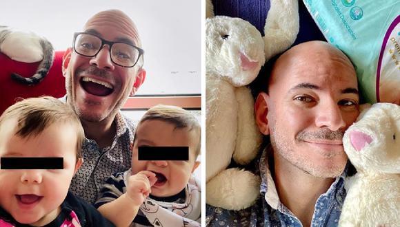 """Ricardo Morán: """"Yo no quería que mis hijos tuvieran el modelo de persona que era antes"""". (Instagram)"""