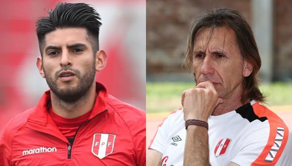 Ricardo Gareca se refirió al presente de Carlos Zambrano en Boca Juniors. (Foto: GEC)
