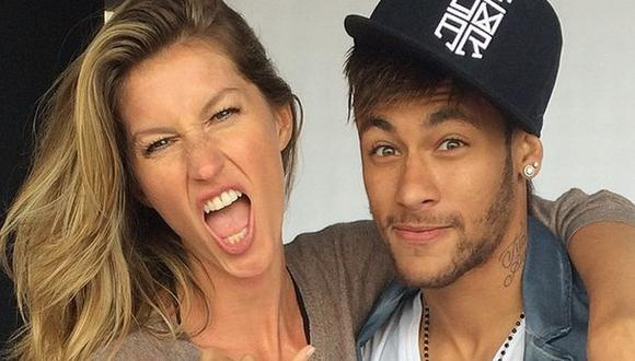 Neymar y Gisele Bündchen posan para Mario Testino. (Instagram)