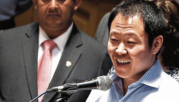 Kenji Fujimori a un paso del desafuero. (USI)