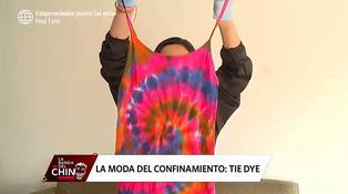 Ropa Tie Dye, la tendencia hippie que está de regreso