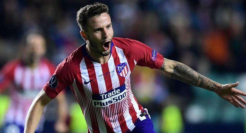 Saúl Ñíguez suma siete temporadas en Atlético de Madrid y una en Rayo Vallecano (Foto: AFP).