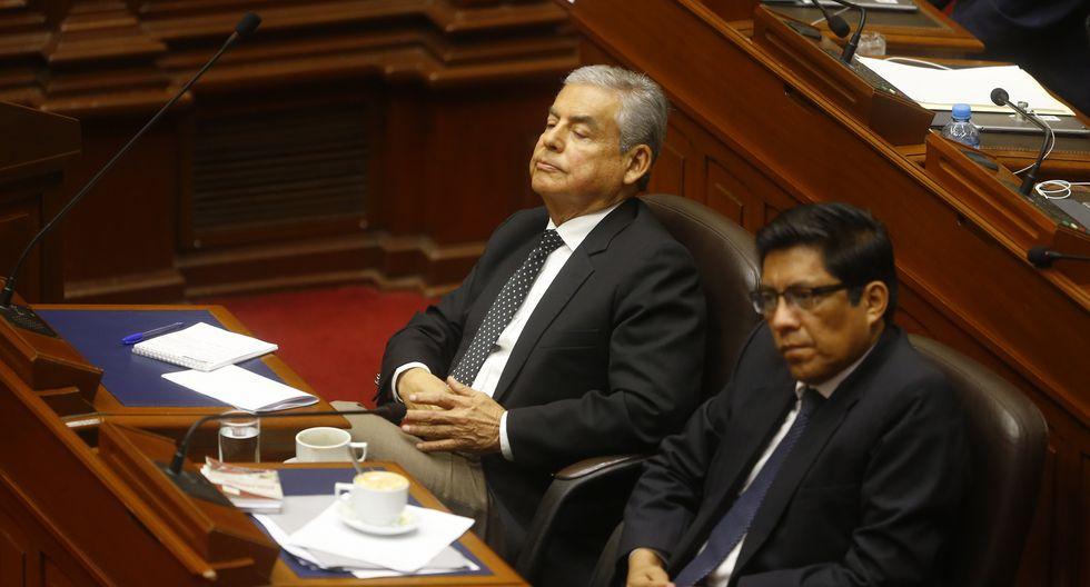 Obstrucción. El último sábado, Bartra alegó que la comisión no sesionará esta semana por ser de representación. (GEC)