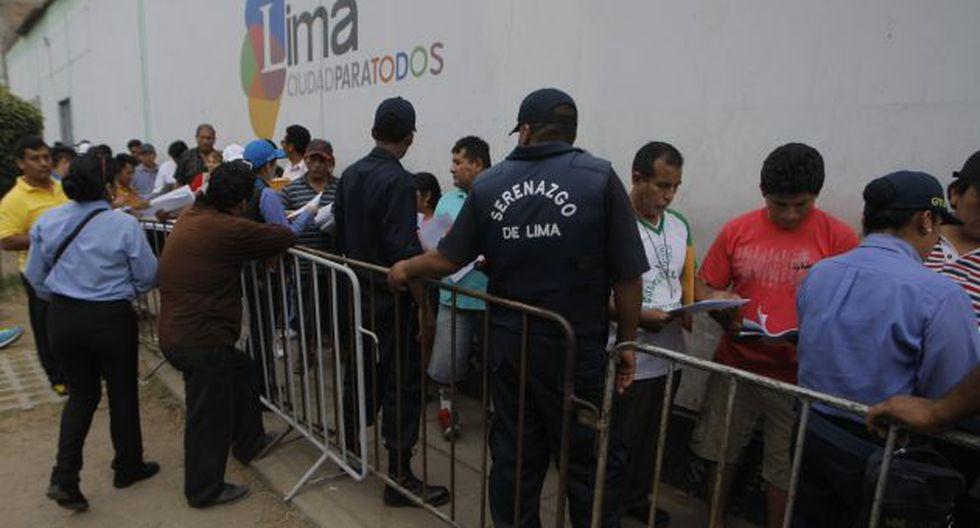 Susana Villarán critica a taxistas por hacer cambio de placas a último minuto. (Perú21)