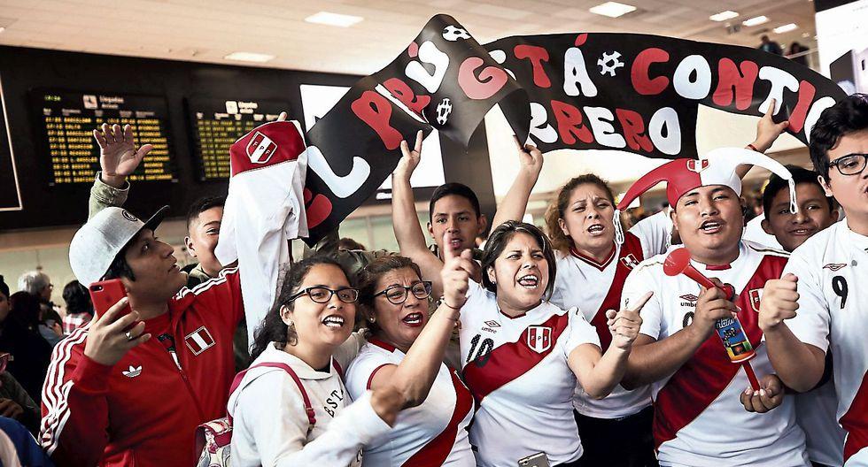 Afortunados hinchas. Miles de peruanos acompañarán a nuestra selección de fútbol. (USI)