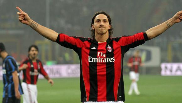 Zlatan Ibrahimovic volvería a fichar por AC Milan (Foto: AP)