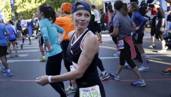 Participó en maratón. (AP)