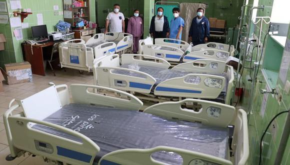 Estos equipos permitieron que un paciente con el 20% de saturación de oxígeno pueda ganarle la batalla al COVID-19 (Foto: Hospital Eleazar Guzmán)