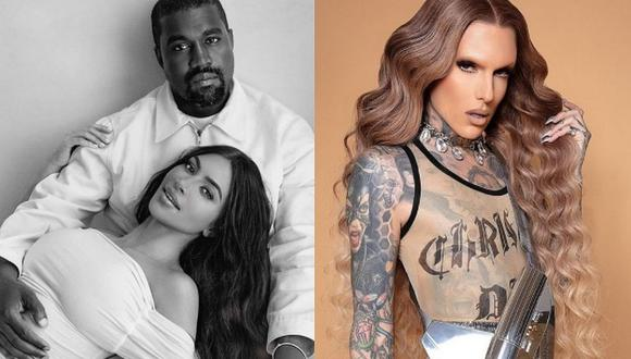 Mientras se confirma si Kim Kardashian y Kanye West se divorcian, el nombre del beauty vlogger Jeffree Star aparece en la historia. (Foto: @kimkardashian @jeffreestar / Instagram)