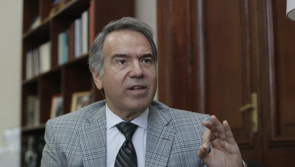 Francesco Petrozzi es el nuevo ministro de Cultura. (Foto: GEC)