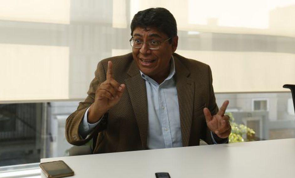 Elmer Cuba precisó que Keiko Fujimori no pretende controlar el precio de la leche. (Perú21)