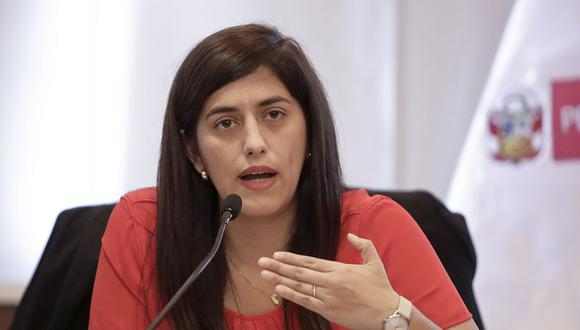 """La ministra Alva aseveró que """"no era legal ni financieramente viable"""" que su sector """"efectúe un aporte de capital a Petroperú"""" para sanear la deuda por la refinería de Talara. (Foto: MEF)"""