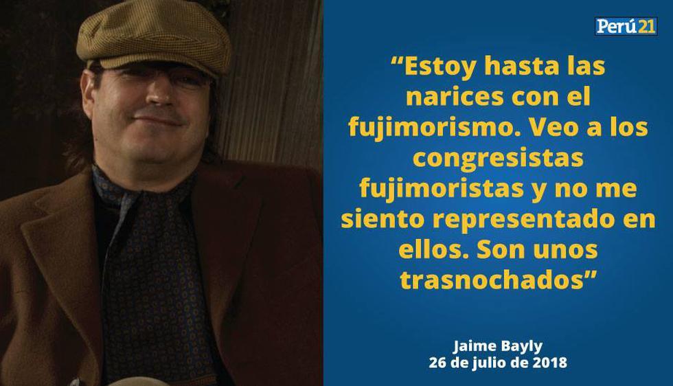 Jaime Bayly Estoy Harto De Los Fujimoristas Videos Politica Peru21 Sus comentarios mas picantes, su forma de ser, el niño terrible que ahora se ve mas. jaime bayly estoy harto de los