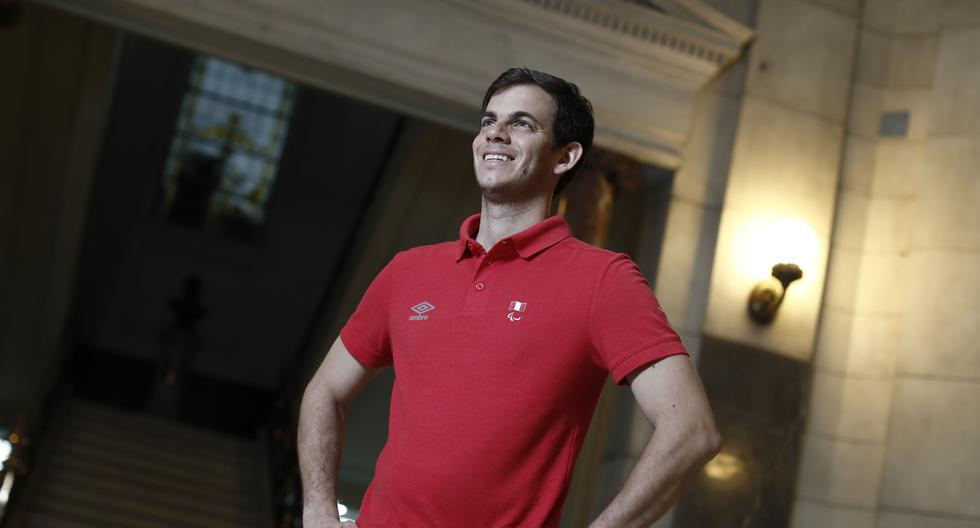 Pedro Pablo de Vinatea participará este jueves 29 en la disciplina de Para bádminton. (Foto: César Campos)