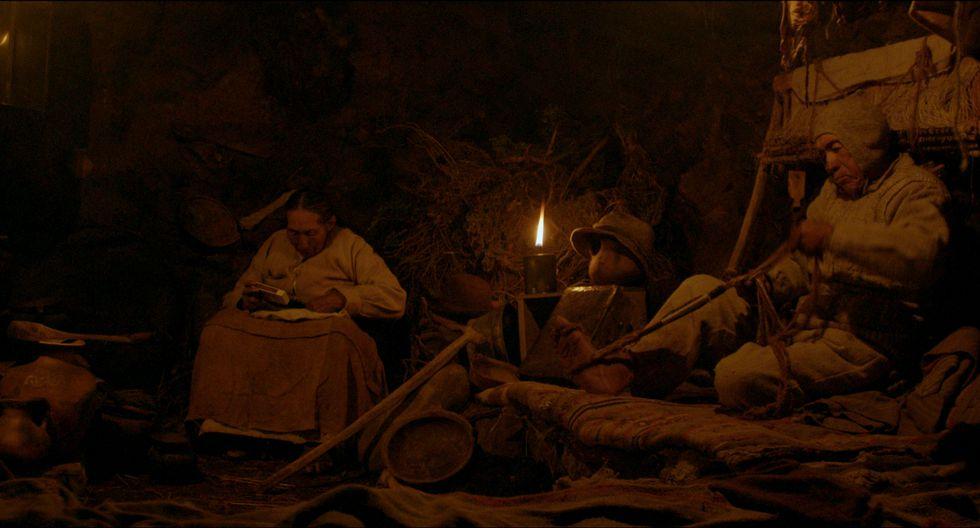 Rosa Nina interpreta a Phaxsi (Sol en aymara) y Vicente Catacora a Willka (Luna), quienes esperan a que su hijo Antuku (Estrella que ya no brilla) los rescate (Difusión).