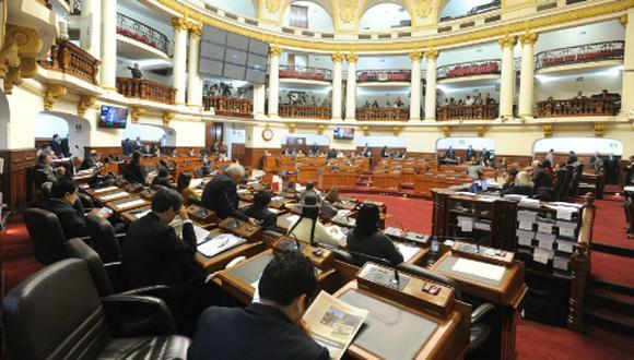 El Congreso dictó la Ley que aprueba diversas disposiciones presupuestarias para promover la ejecución del gasto público en inversiones públicas. (Foto: Andina)