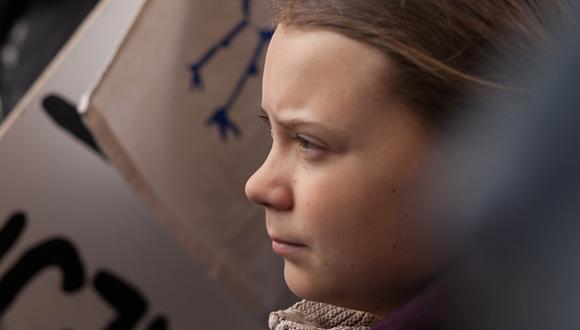 El Cambio Climático y Greta Thunberg. (Getty)