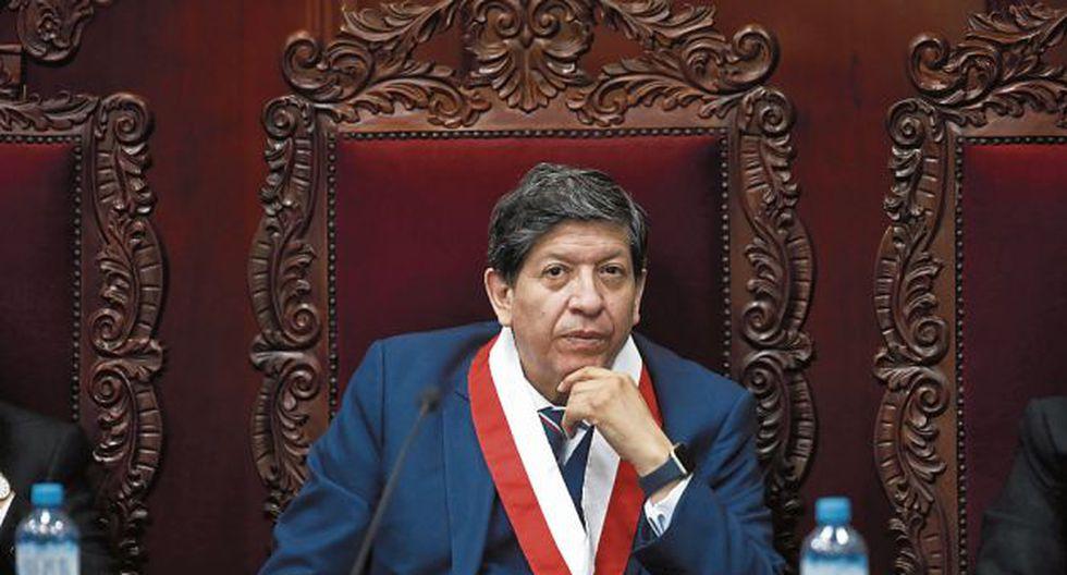 """Ramos consideró que indagación """"es una represalia"""" por su voto en el caso Fujimori. (GEC)"""