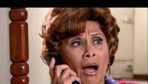 """Irma Maury revela los motivos por los que dejó de interpretar a Doña Nelly en """"Al fondo hay sitio"""". (Foto: captura de video)."""
