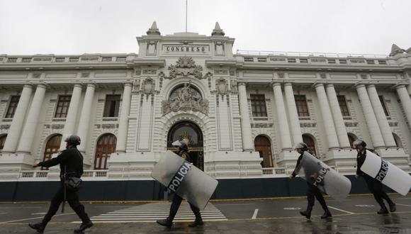 Carlos Morán anunció que policías que resguardaban a congresistas reforzarán seguridad ciudadana. (GEC)