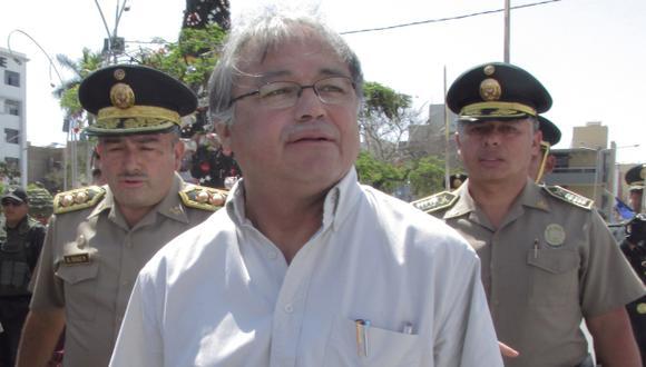 Titular del Interior, Walter Albán, al Congreso. (Nadia Quinteros)