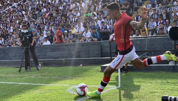 Christofer Gonzales anotó un gol en el empate a tres entre Alianza Lima y Melgar. (Foto: Melgar)