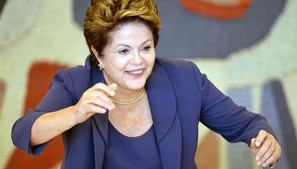 Brasil 2014: Dilma Rouseff llamó a 'Felipao' y le deseó suerte. (AFP)