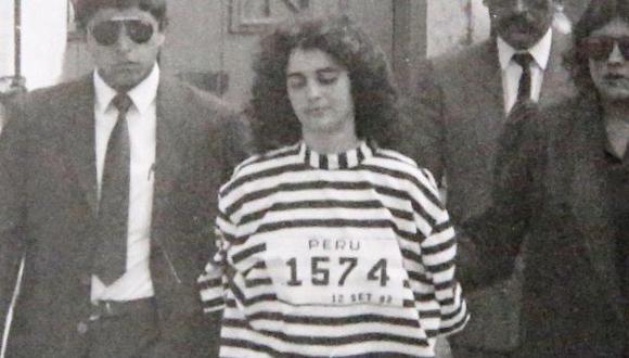 Maritza Garrido Lecca se encargó de la seguridad de Abimael Guzmán. (USI)
