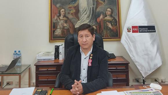Guido Bellido aseguró que no hay una estrategia para ganar el voto de confianza del Congreso. (Foto: Guido Bellido / Twitter)