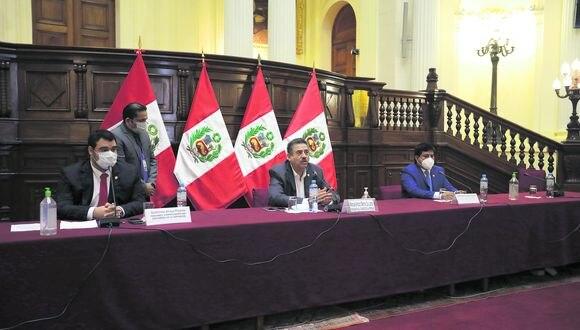 Mesa Directiva dirigida Manuel Merino no puso en agenda del Pleno dictámenes de inmunidad e impedimento de postulación. (Anthony Niño de Guzmán/GEC)