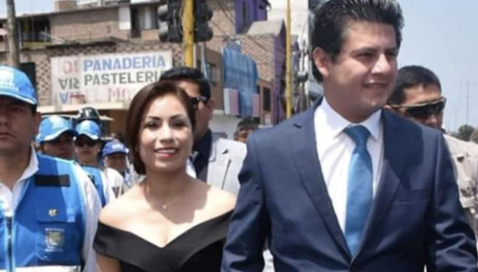 Congresista Leslye Lazo y su esposo tuvieron que ser hospitalizados por coronavirus.