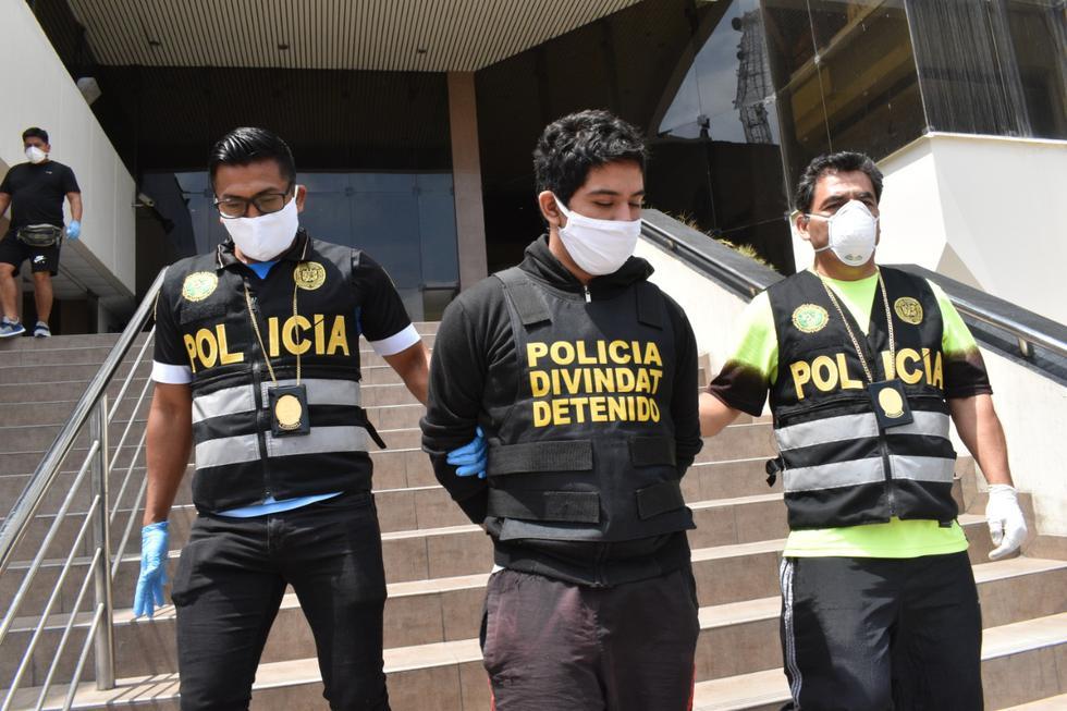 Jóvenes declararon a la Policía que solo era una broma. (PNP)