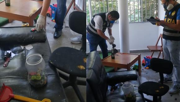 Trujillo: Arrojan bombas molotov y provocan incendio en casa de gerente de canal de TV.