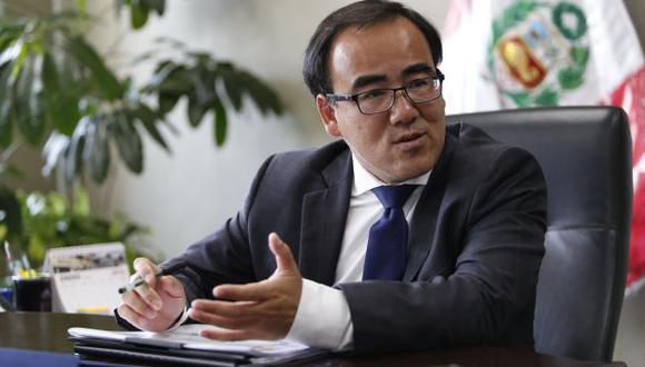 José Gallardo Ku: Ministro de Transportes pidió más control en los vuelos. (USI)