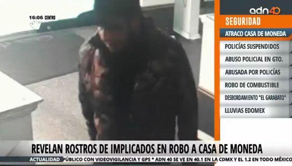 Identifican a presuntos asaltantes de Casa de Moneda en Ciudad de México. (Foto: Captura)