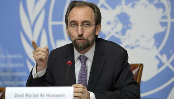 Zeid Ra'ad Al Hussein, Alto Comisionado de la ONU (Noticias MVS).