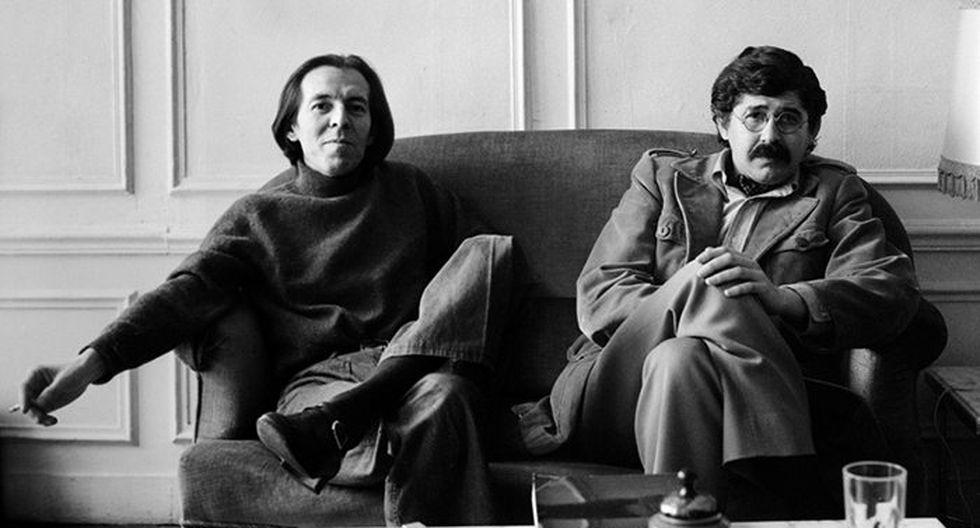 Julio Ramón Ribeyro y Alfredo Bryce Echenique, dos grandes escritores y buenos amigos (Archivo).
