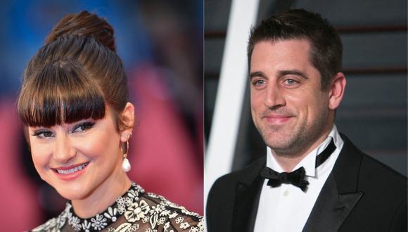 Shailene Woodley y Aaron Rodgers pasarán a la fila de los casados. (Foto: AFP)