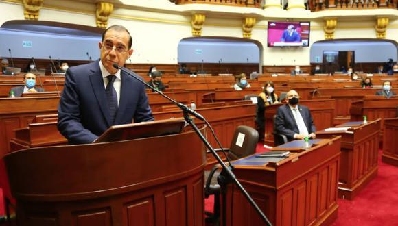 Fue un discurso a la medida que requiere acciones con rapidez. Fotos: Congreso de la República
