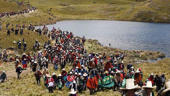Radicales. Amenazan con tomar campamento minero. (Reuters)