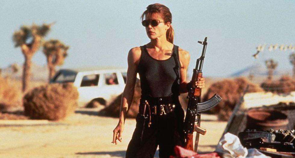 Arnold Schwarzenegger y Linda Hamilton juntos en nueva cinta de 'Terminator'. (Difusión)