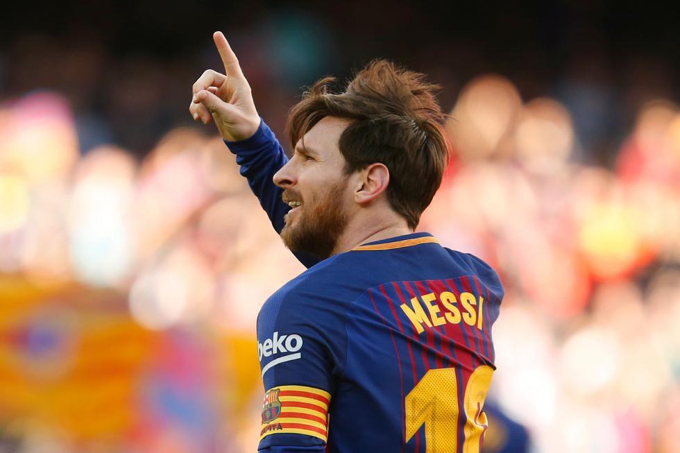 Barcelona domina la clasificación española con 72 unidades, será finalista de la Copa del Rey ante Sevilla y está clasificado a los cuartos de final de la Champions League, donde enfrentará a la Roma. (AFP)