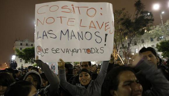 Ollanta Humala subestimó a los jóvenes, que ya le pasan  'factura' por su actitud. (Luis Gonzales)