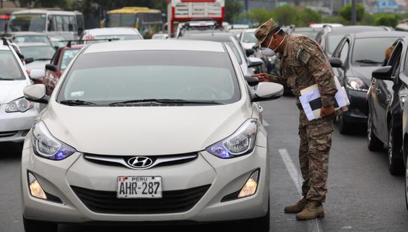 Importante. Buscan facilitar desplazamiento de personal indispensable en situación de emergencia. (Foto: Gonzalo Córdova/GEC)