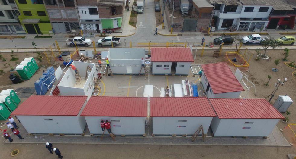 Gobierno alquilará viviendas para los damnificados que viven en módulos. (Foto: GEC)