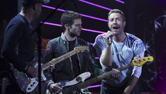 Coldplay ya tiene fecha de estreno para su noveno álbum de estudio. (Foto: Ronny HARTMANN / AFP)