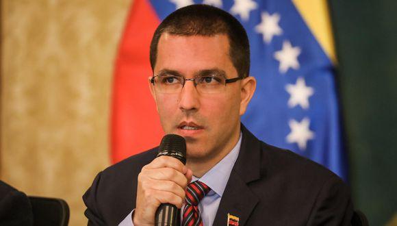 El canciller Jorge Arreaza manifestó que amenaza a la paz es el narcotráfico colombiano y su colaboración con Estados Unidos.(Foto: EFE)