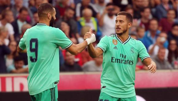 Real Madrid vs. Roma: chocan en su último amistoso de pretemporada. (Foto: AFP)